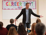 House: S07E13:House participates in Career Day at a local school