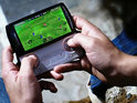 Click here to view gameplay footage of Sony Ericsson's Xperia Play, including The Sims 3 and FIFA 10.