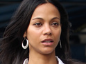 Zoe Saldana says that she was misquoted in a report that claimed she had a breakdown after Avatar.