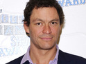 Dominic West says that he insisted on having a big wedding when he got married last year.