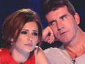 Girls Aloud star tweets about her 'Best Judge' victory over Simon Cowell.