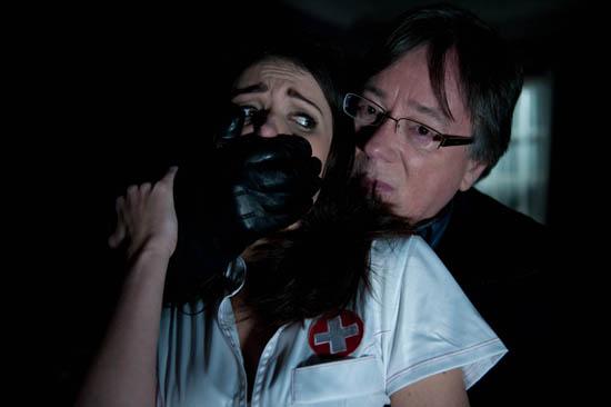Lynsey Nolan (Karen Hassan) and Silas Blissett (Jeff Rawle)
