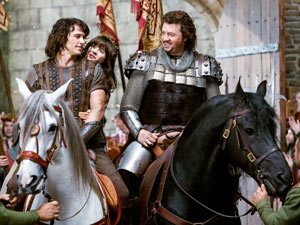 James Franco, Zooey Deschanel and Danny McBride 'Your Highness'