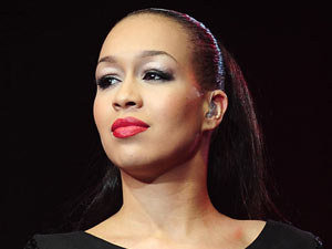 Rebecca Ferguson on The X Factor Tour