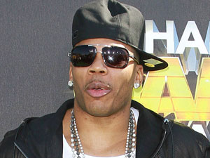 Nelly at the Cartoon Network 'Hall of Game Awards'