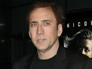 Nicolas Cage at the Los Angeles Screening of &#39;Drive Angry&#39;