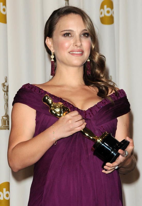 Natalie Portman was awarded