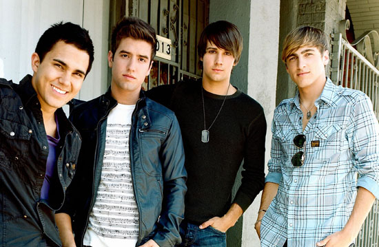 Boyband 'Big Time Rush'