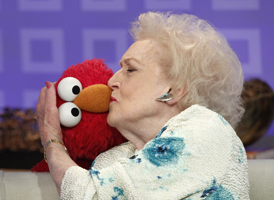 Betty and Elmo