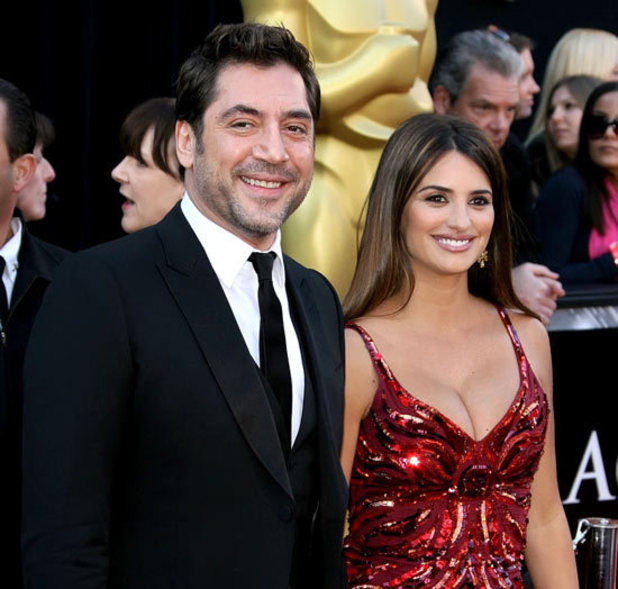 Javier Bardem and Penelope Cruz