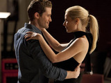 Glee S02E15 'Sexy': Will and Holly share a moment.
