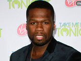 Curtis '50 Cent' at the premiere of 'Take Me Home Tonight'