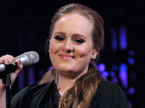 Adele performing on 'MTV Live' at the Masonic Temple in Toronto, Canada