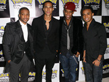 JLS attend the Pokemon Black and White Launch Party in London