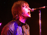 Liam Gallagher fronting his new band Beady Eye at Barrowlands, Glascow