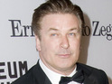 Alec Baldwin leaves tonight's Emmy telecast after Fox cuts a joke about Rupert Murdoch.