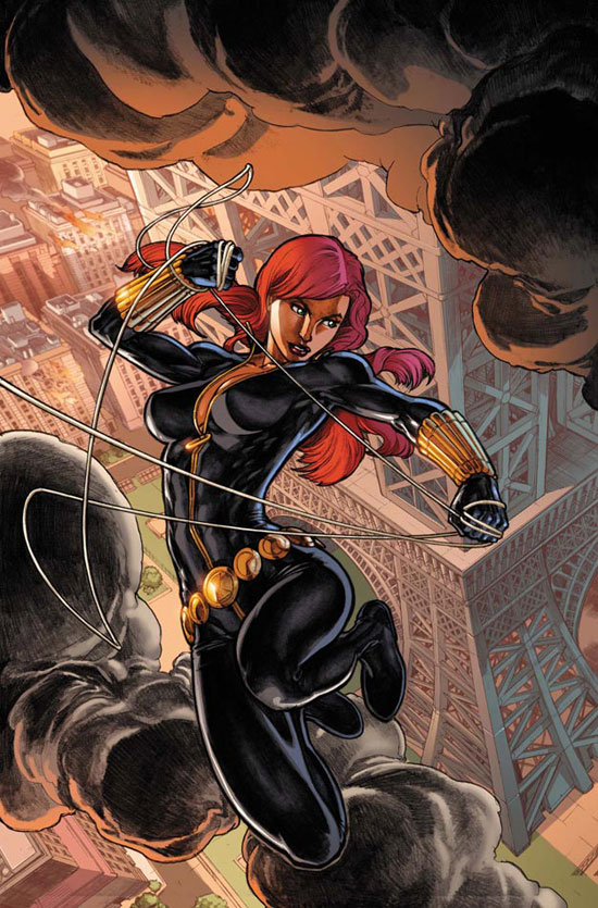 Black Widow faces Fear Itself
