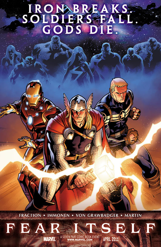 Fear Itself: Captain America, Iron Man and Thor