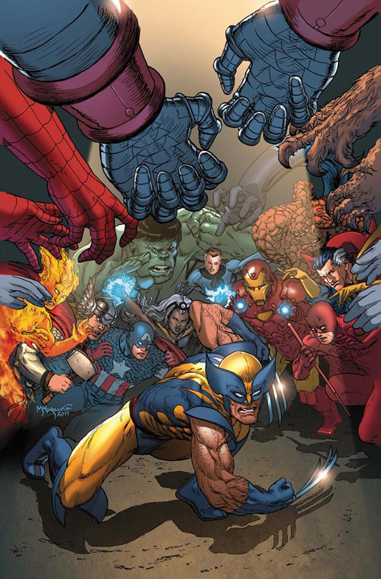 Wolverine takes on the Marvel Universe