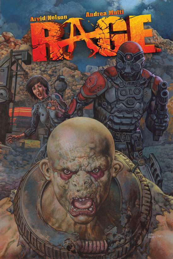 &#39;Rage&#39; 1 Comic Cover