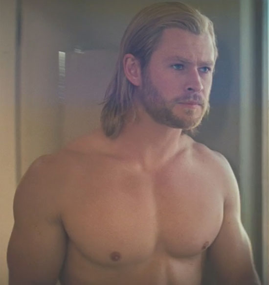 chris hemsworth thor shirtless. Chris Hemsworth