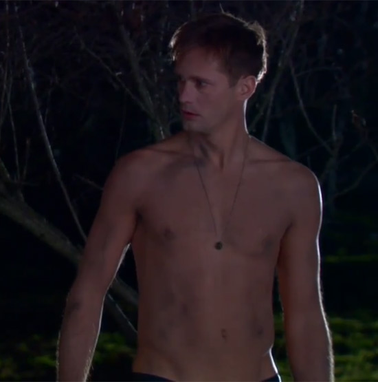 Alexander Skarsgard in a 'True Blood' teaser
