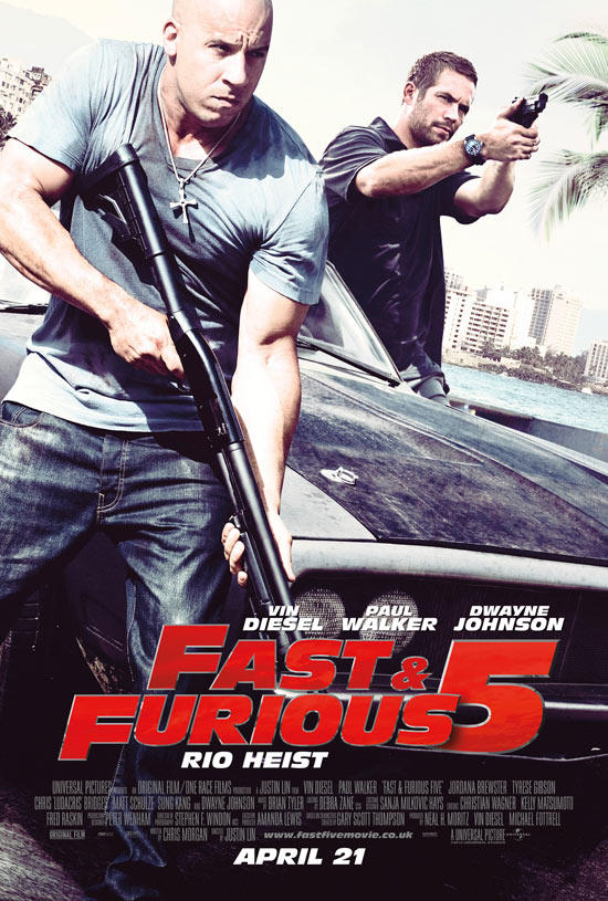 The Fast And The Furious 5: Rio Heist