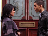 Francesca Montoya and Jonah Kirby kiss in Waterloo Road