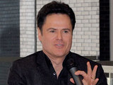 Donny Osmond at the Dancap Productions press conference in Toronto