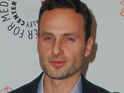 The Walking Dead star Andrew Lincoln says that working on the show is a dream come true for him.