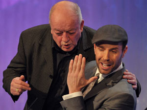 Tim Healy and Jason Gardiner on Dancing On Ice