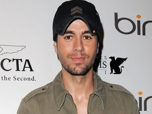 Enrique Iglesias at The Ocean Drive Magazine 18th anniversary party