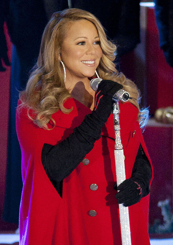 Mariah Carey - The singer celebrates her 42nd birthday on Sunday.