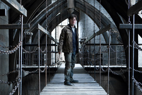 Harry Potter in 'Harry Potter and the Deathly Hallows Part 2'