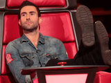 Adam Levine judges The Voice