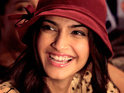 "The actress describes the Khoobsurat remake as a ""chick flick""."