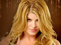 "Kirstie Alley says that spending time with a ""hot dude"" will help Maria Shriver through her pain."