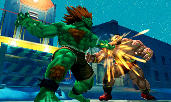 Zangief vs Blanka