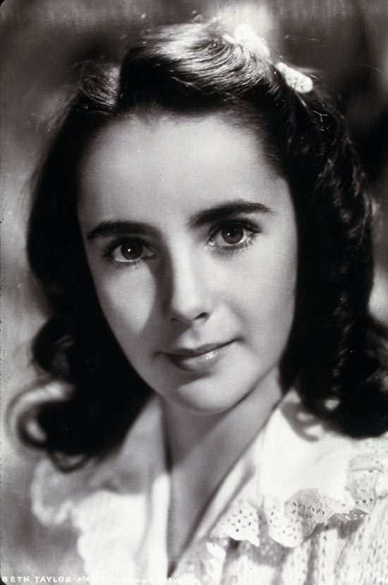 Liz Taylor aged 11