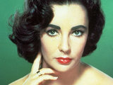 Elizabeth Taylor's headshot from 1951