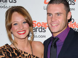 Danny Miller and Kirsty-Leigh Porter