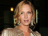 Uma Thurman during the 'Ceremony' premiere in Los Angeles