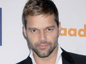 Ricky Martin could play a singing Spanish teacher in a future episode of Glee.