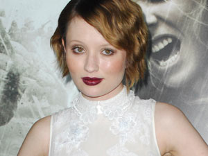 Emily Browning at the Sucker Punch premiere