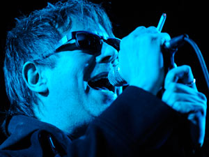 Ian McCulloch of the band Echo and the Bunnymen