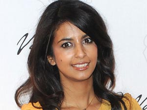 Former Xtra Factor presenter Konnie Huq arriving at a London launch party