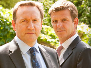 DCI John Barnaby and DS Ben Jones from Midsomer Murders