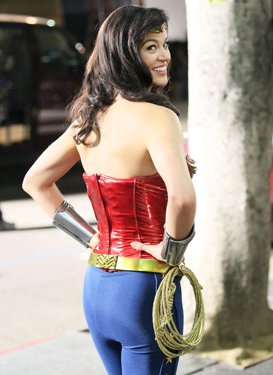 Our first look at the lasso of truth...