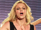 Britney Spears performing on 'Jimmy Kimmel Live!' in Los Angeles