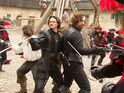 A new trailer debuts for Paul WS Anderson's The Three Musketeers, starring Logan Lerman and Milla Jovovich.
